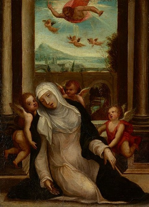 Sodoma The Ecstasy of Saint Catherine of Siena 1530-35