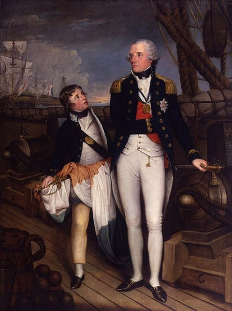 Horatio Nelson, Viscount Nelson by Guy Head 1760-1800