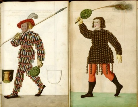 Radical Fashion from the Schembart Carnival (1590)12