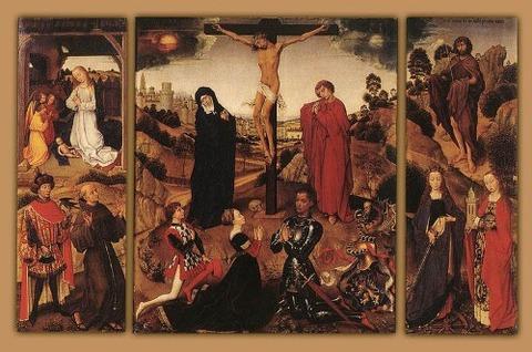 Rogier_van_der_Weyden_Sforza_Triptych 1460