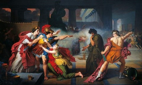 Challenge Eteocles Polynices 1820 Giovanni Silvagni