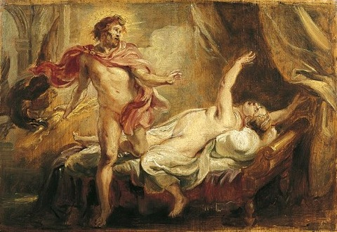 Peter Paul Rubens Death of Semele 1640