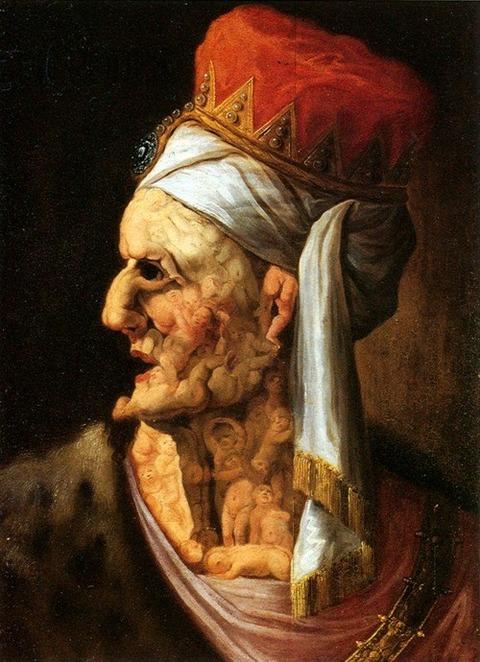 Giuseppe Arcimboldo  Head of Herod