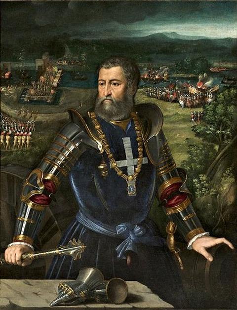 Battista Dossi   Alfonso I d'Este  1530