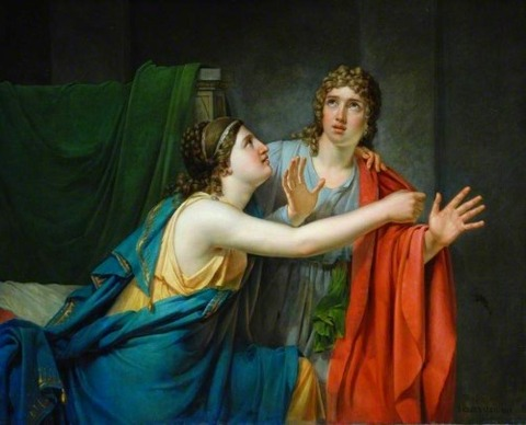 Josef Geirnaert 1791-1857 Phaedra and Hippolytus