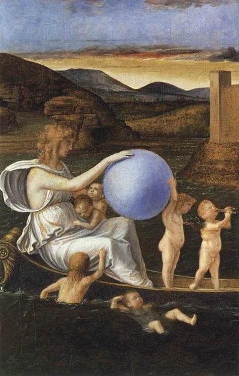Giovanni Bellini 1490 fortune melancholy