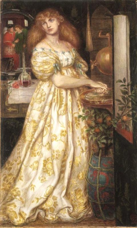 Dante Gabriel Rossetti 1871