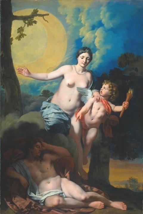 Gérard de Lairesse  Diana and Endymion 1680