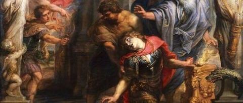 Death of Achilles  Peter Paul Rubens 1630-35 -