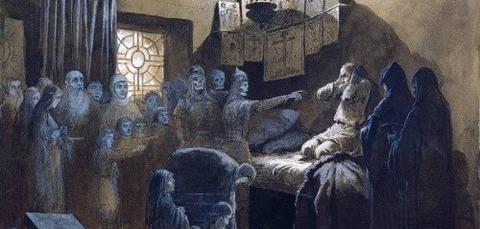 Mikhail Petrovich 1835-1914 Ivan Terrible  Souls  Victims -
