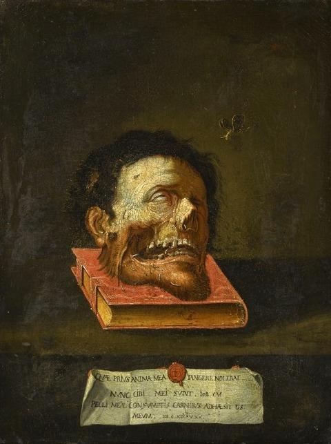 Macabre Momento Mori 1728 Follower of Jacopo Ligozzi