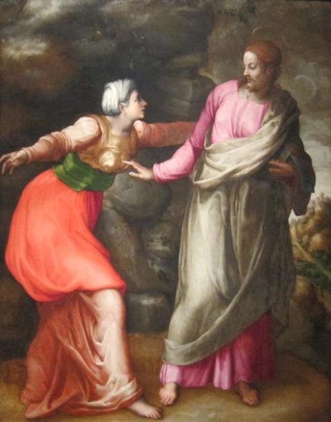 Giovanni Battista Franco (Il Semolei) Noli me tangere, 1537