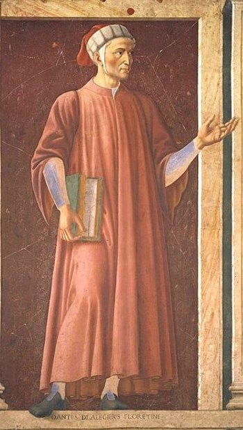 Andrea del Castagno, Dante Alighieri 1448-51