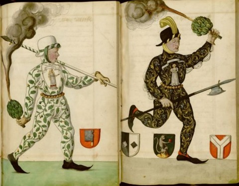 Radical Fashion from the Schembart Carnival (1590)5