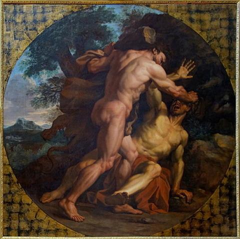Noël Coypel - Hercules Fighting Achelous, 1667-69