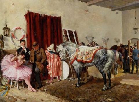 circus-at-the-circus-by-ottokar-walter 1889