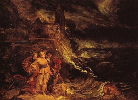 John Runciman - King Lear in the Storm - 1767