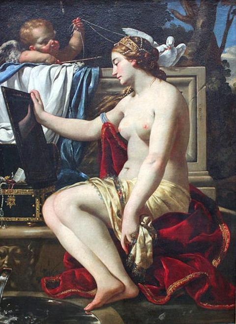 Simon Vouet The Toilet of Venus 1626
