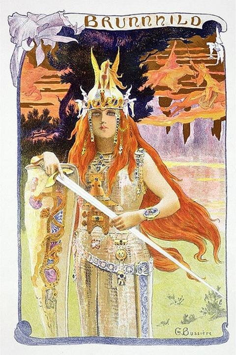 Brynhild 1897 Gaston Bussière