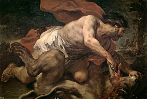Giordano-Luca-Samson-Lion-c1695-96