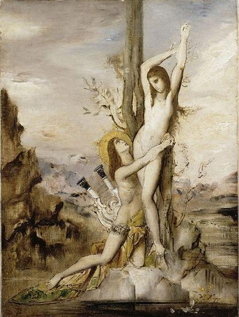 Gustave Moreau, Apollon et Daphné, Paris