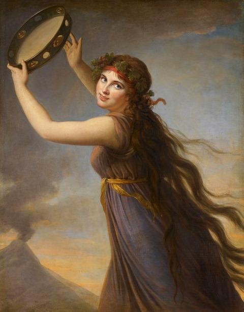 LadyHamilton ヴィジェ・ルブラン 1790