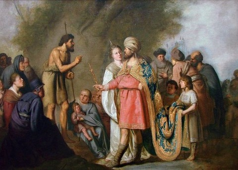 Pieter Fransz de Grebber  hear  preaching of John the Baptist