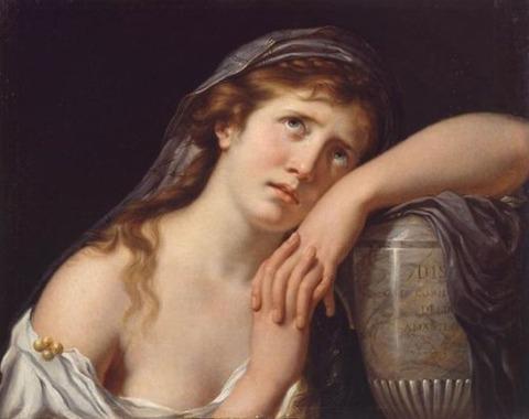 Francois-Xavier Fabre Mélancolie 1795