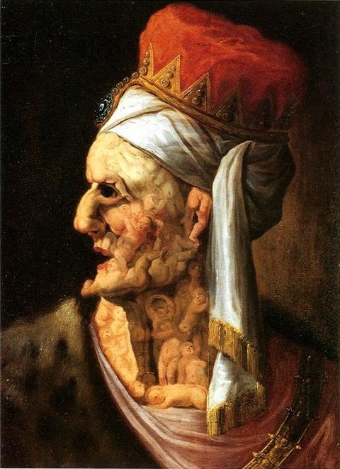 Herod, Arcimboldo follower 17th