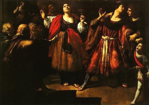 Rutilio ManettiMasinissa and Sophonisba