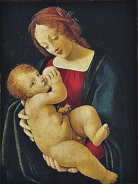 Giovanni Antonio Boltraffio  Madonna and Child 15-16