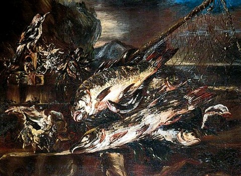 Study of Fish Salvator Rosa (1615–1673)
