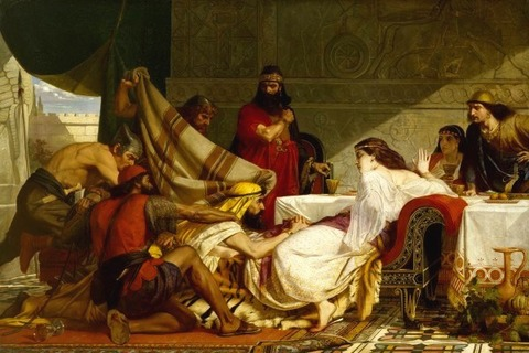 Festival of Esther', Edward Armitage 1865