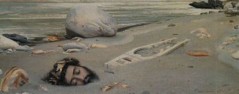 Gustave Courtois, Orpheus, 1875