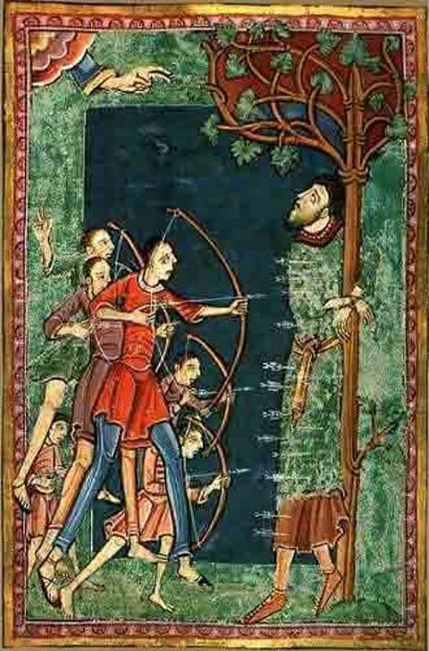 illunmination from a medieval manuscript