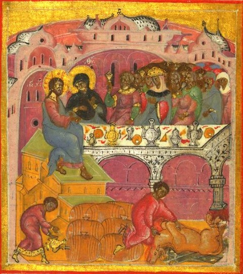 The Wedding at Cana, Walters Manuscript