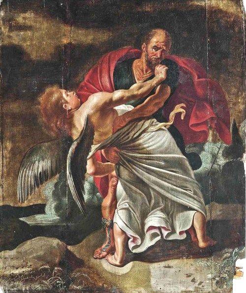 聖書よりヤコブと天使の決闘の絵画11選。肉弾戦の激しい格闘の末、勝利を収める