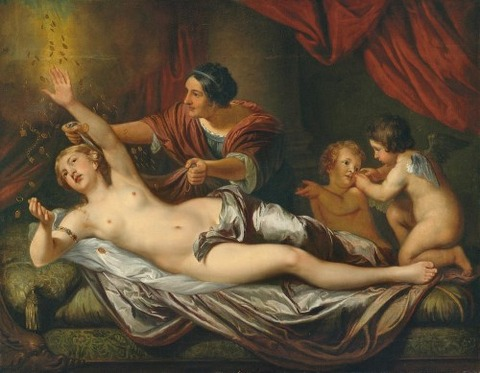Danae by Attributed to Daniel Mijtens the Younger