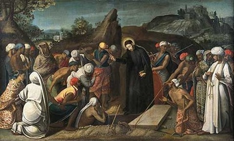 André Reinoso, The Miracle of Saint Francis Xavier (1619)