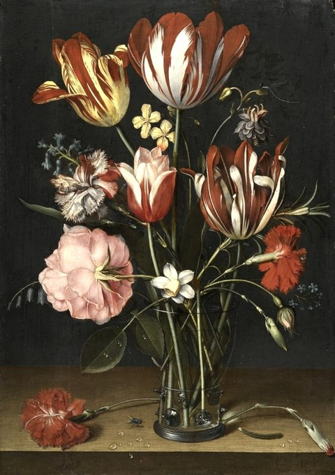 JACOB VAN HULSDONCK ANTWERP 1582 - 1647 -