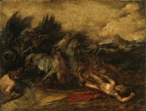 The Death of Hippolytus Peter Paul Rubens 1611-13