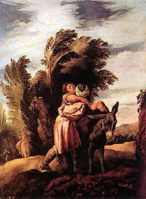 Domenico Fetti - Parable of the Good Samaritan 1623