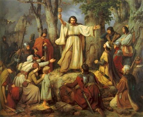 Karl Friedrich Lessing 1836 Hussite Sermon