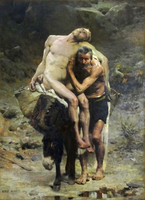 The Good Samaritan by Aimé Morot 1880