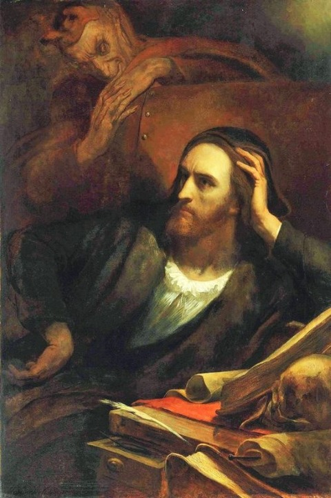 Ary Scheffer  Faust and Mephistopheles, 1848