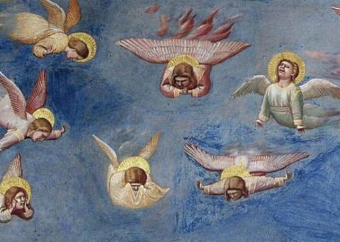 Giotto di Bondone - Lamentation, The Mourning of Christ