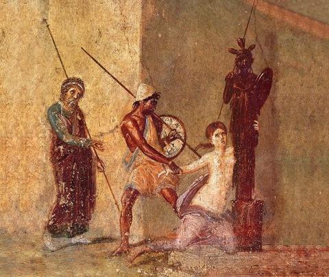 Pompeian wall