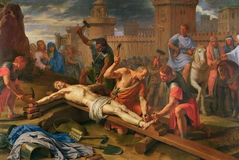 The Crucifixion Painting by Philippe de Champaigne