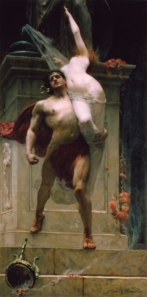 Solomon Joseph Solomon Ajax and Cassandra