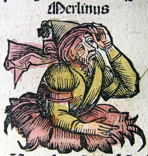 Merlinus in the Nuremberg Chronicle  1493